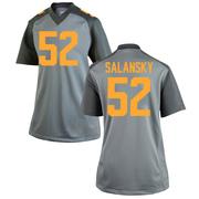 Game Women's Matthew Salansky Tennessee Volunteers Gray College Jersey