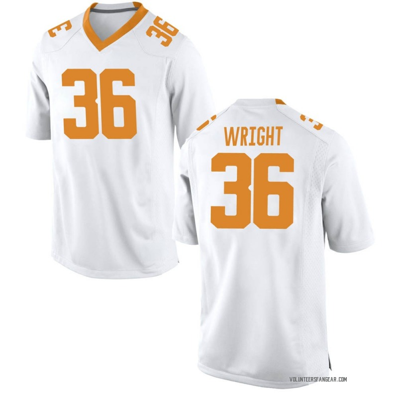 Replica Youth William Wright Tennessee Volunteers White College Jersey